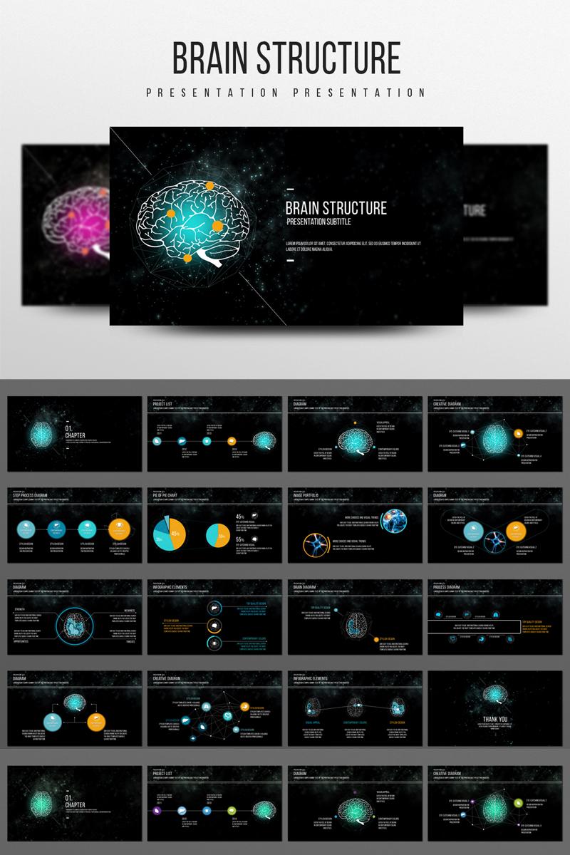 Brain Structure PowerPoint template