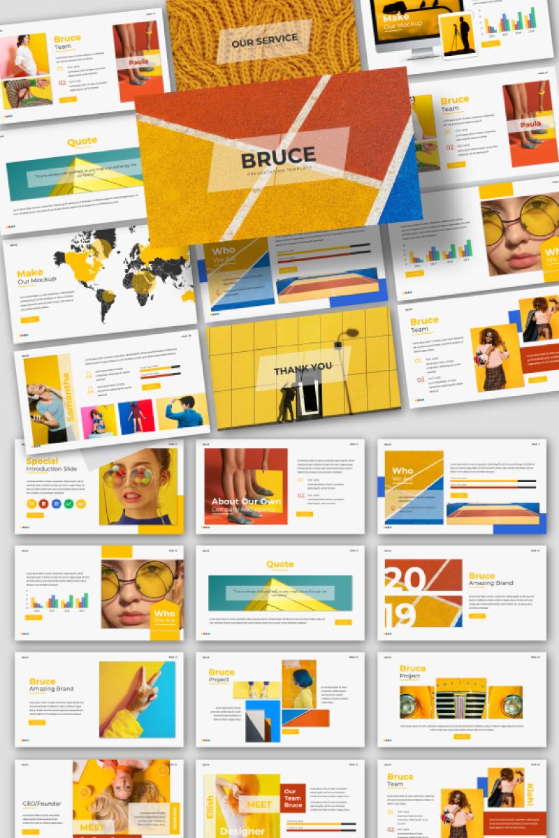Bruce Creative PowerPoint Template