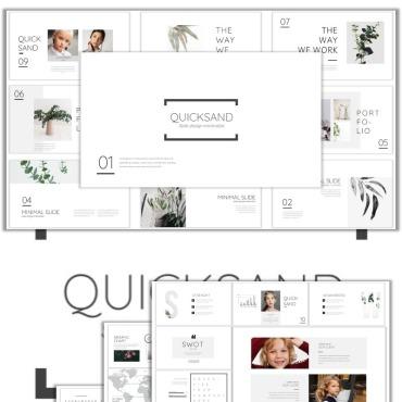 Template Frumusețe PowerPoint #99403