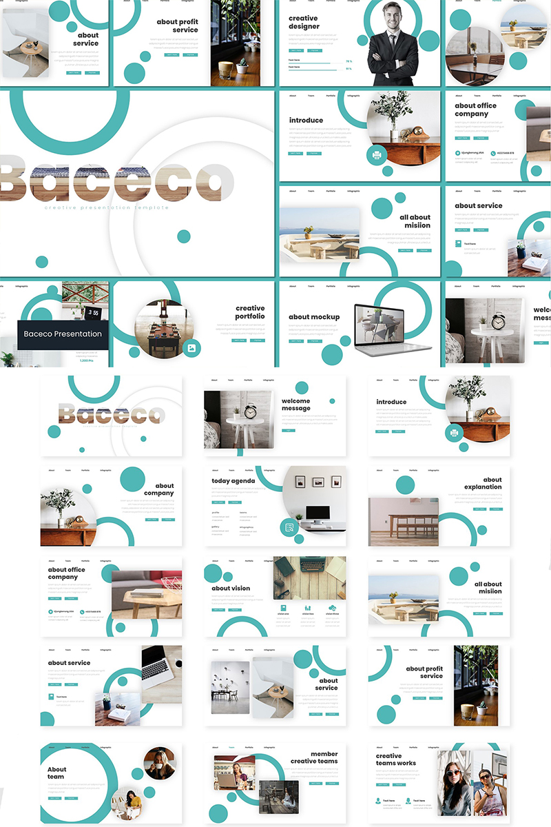 Baceco PowerPoint Template