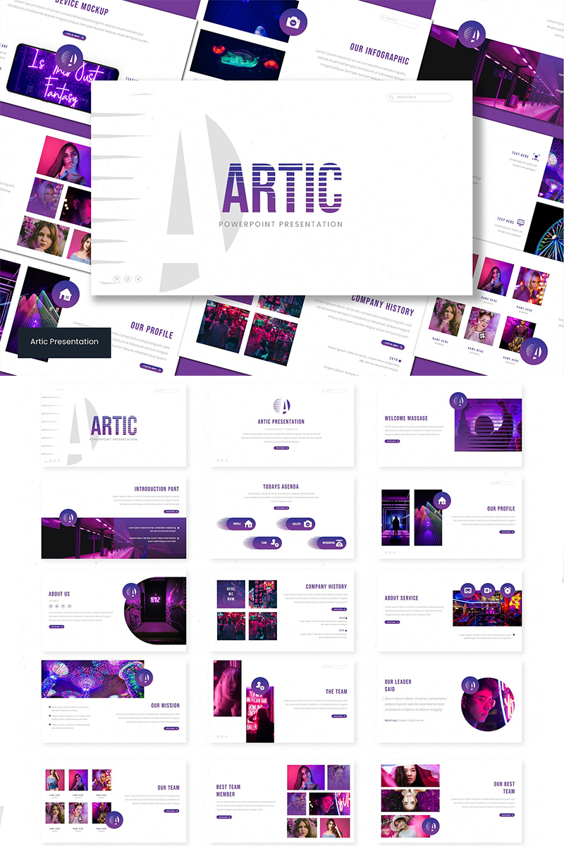 Artic PowerPoint Template