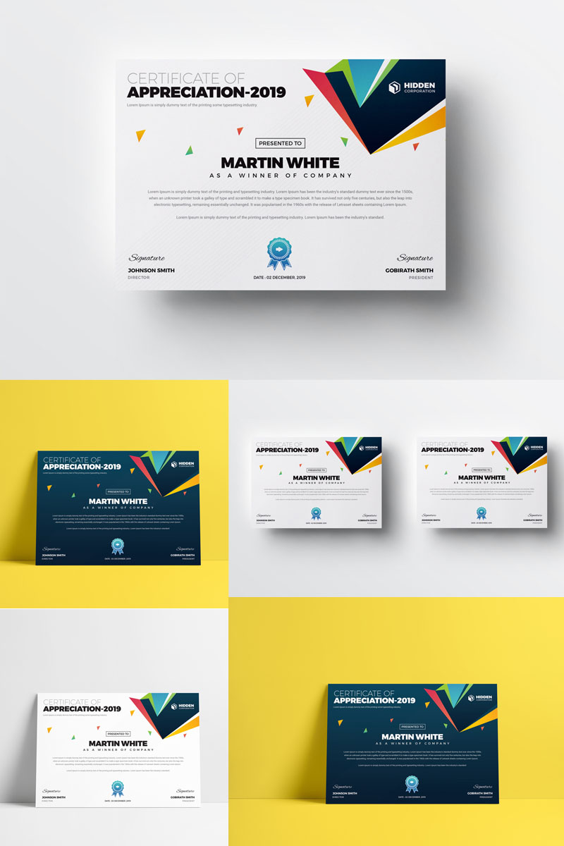 Unique Corporate Identity