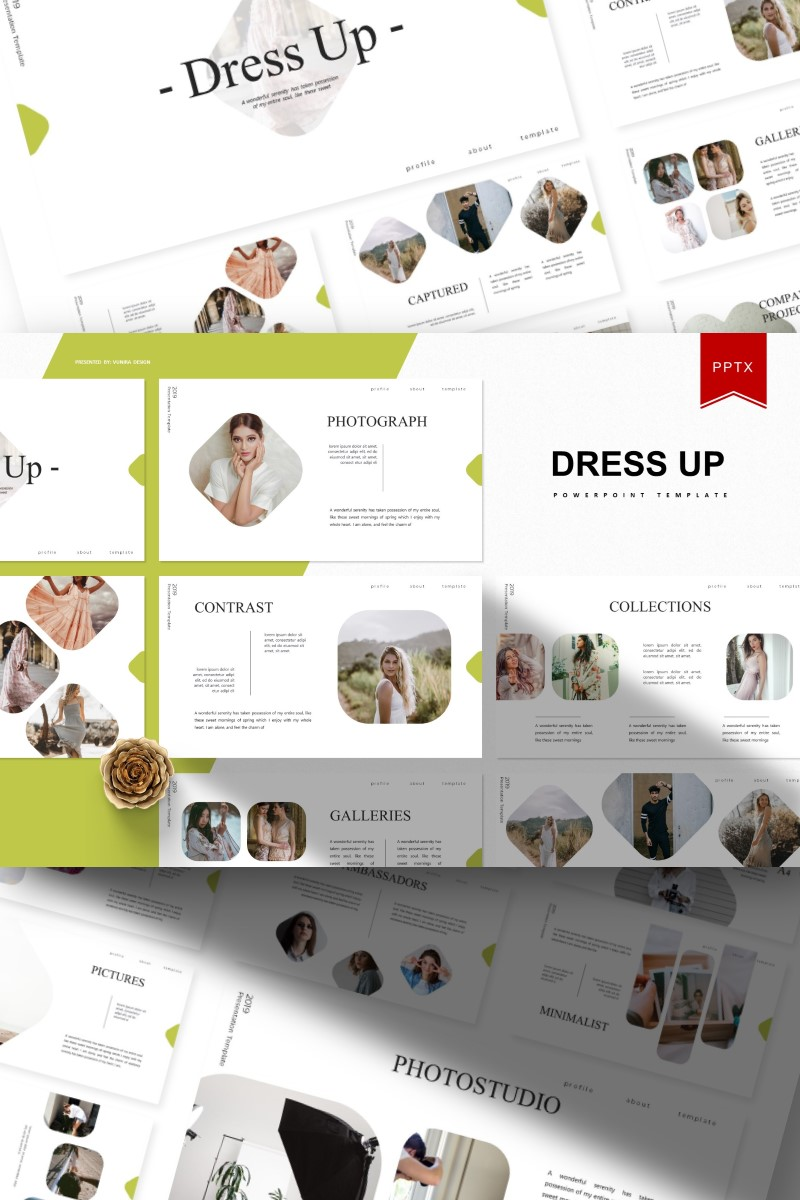 Dress Up | PowerPoint Template