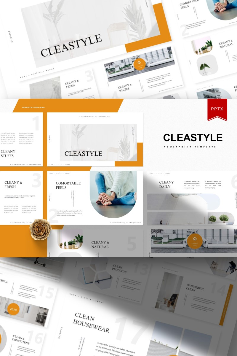 Cleastyle | PowerPoint Template