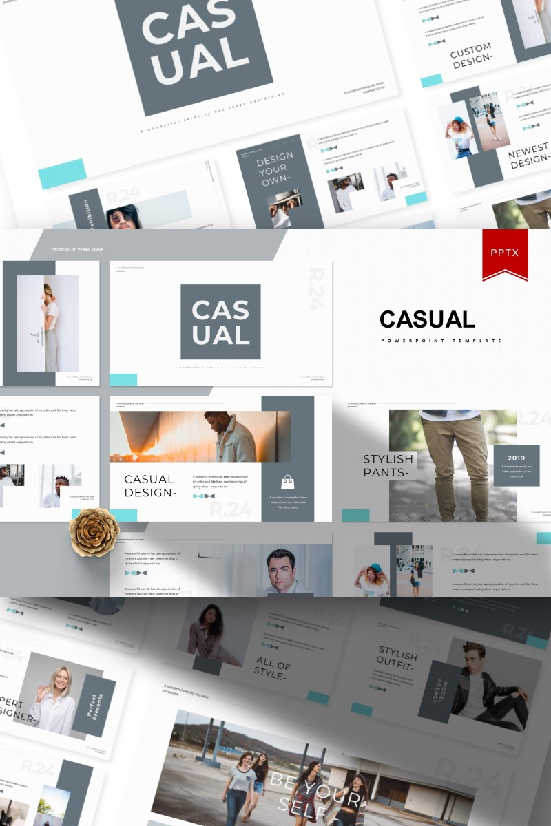 Casual | PowerPoint Template