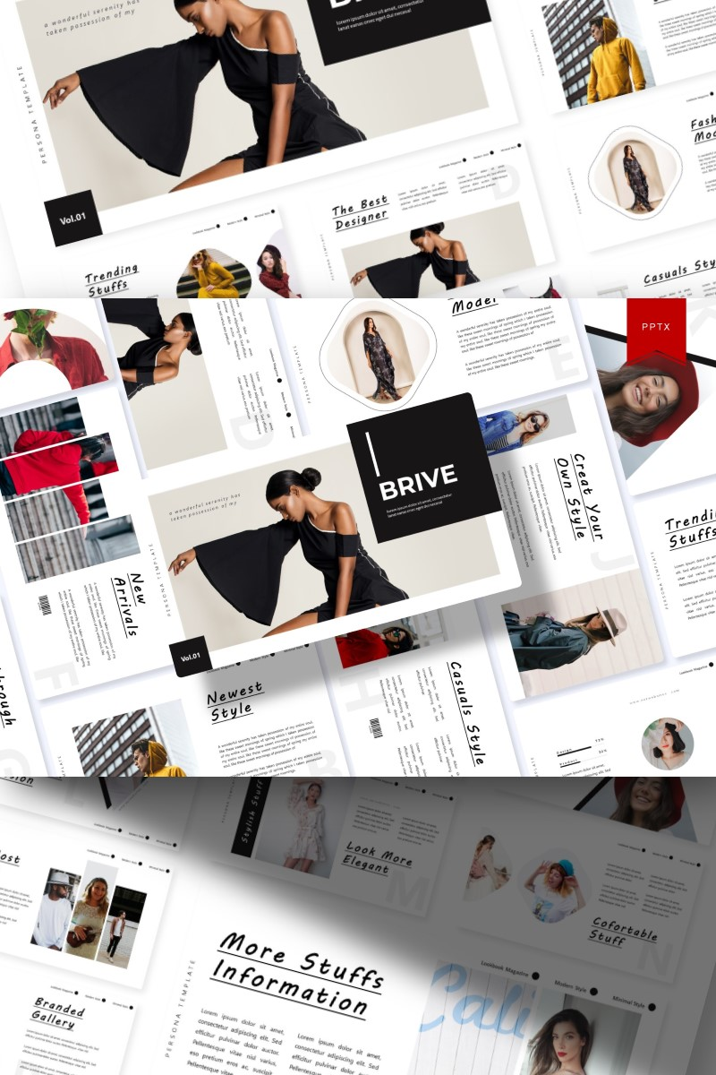 Brive   PowerPoint Template