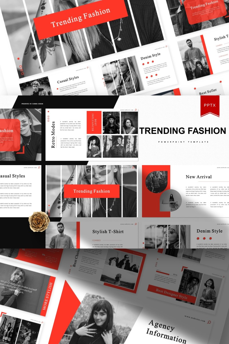 Trending Fashion | PowerPoint Template