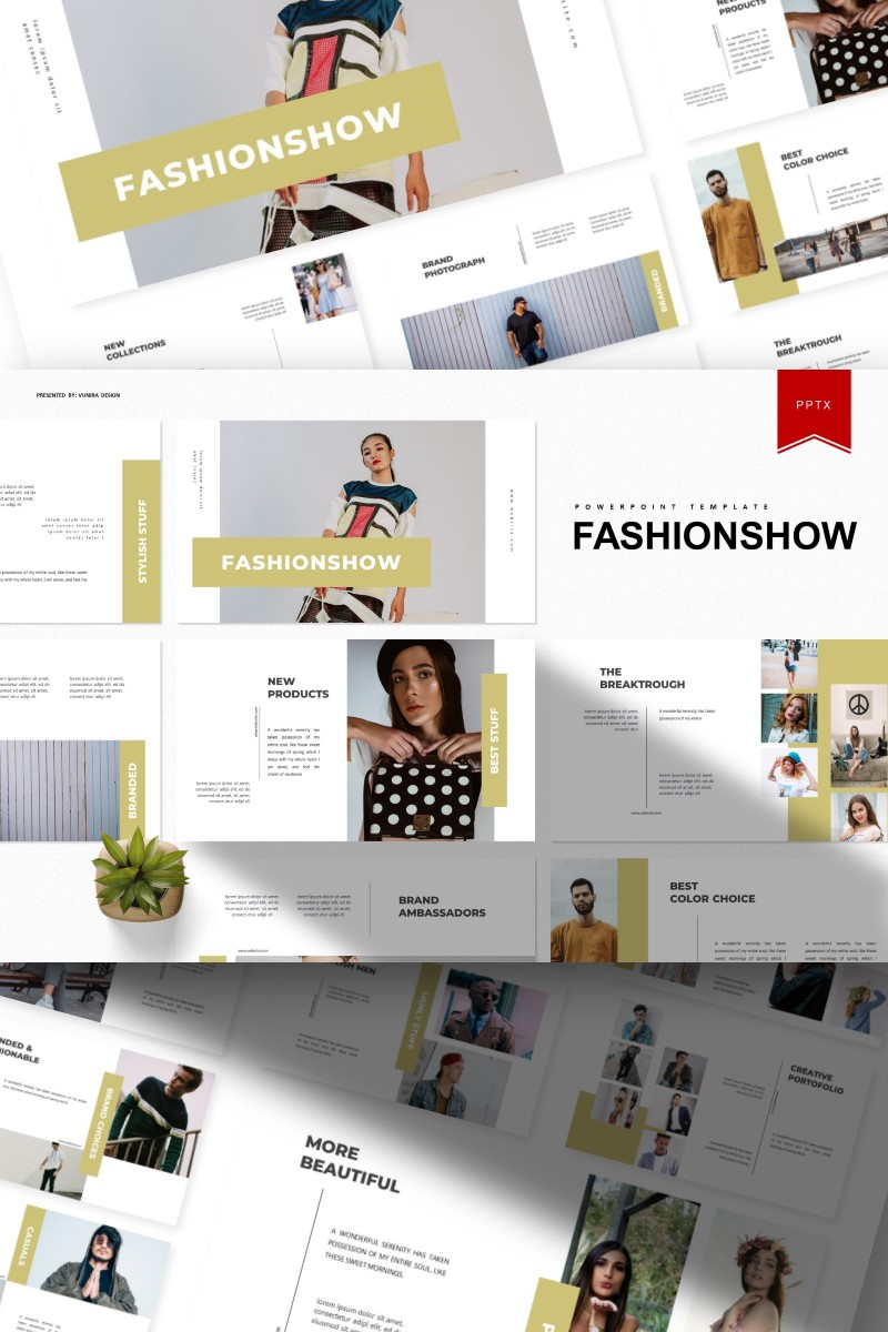 Fashionshow | PowerPoint Template