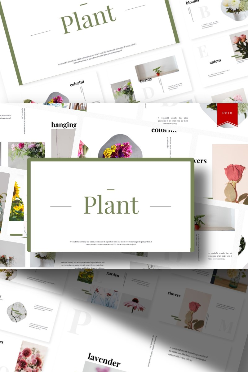 Plant | PowerPoint Template