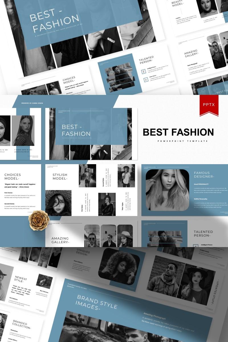 Best Fashion   PowerPoint Template