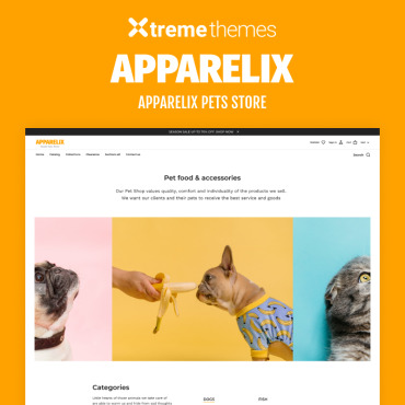 Template Animale de companie Shopify #99605