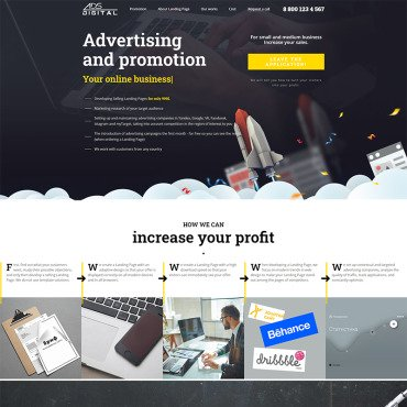 Website Template № 99609