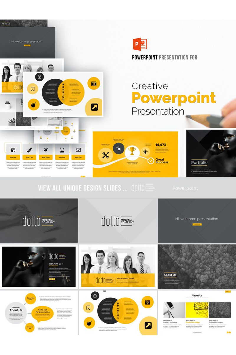 Creative Business  Presentation PowerPoint Template