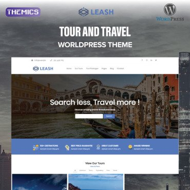 Template Turism WordPress #99865