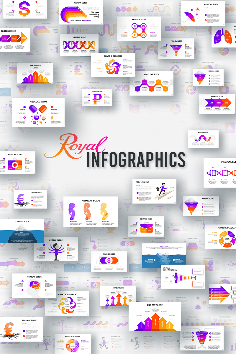 Royal Infographics PowerPoint Template
