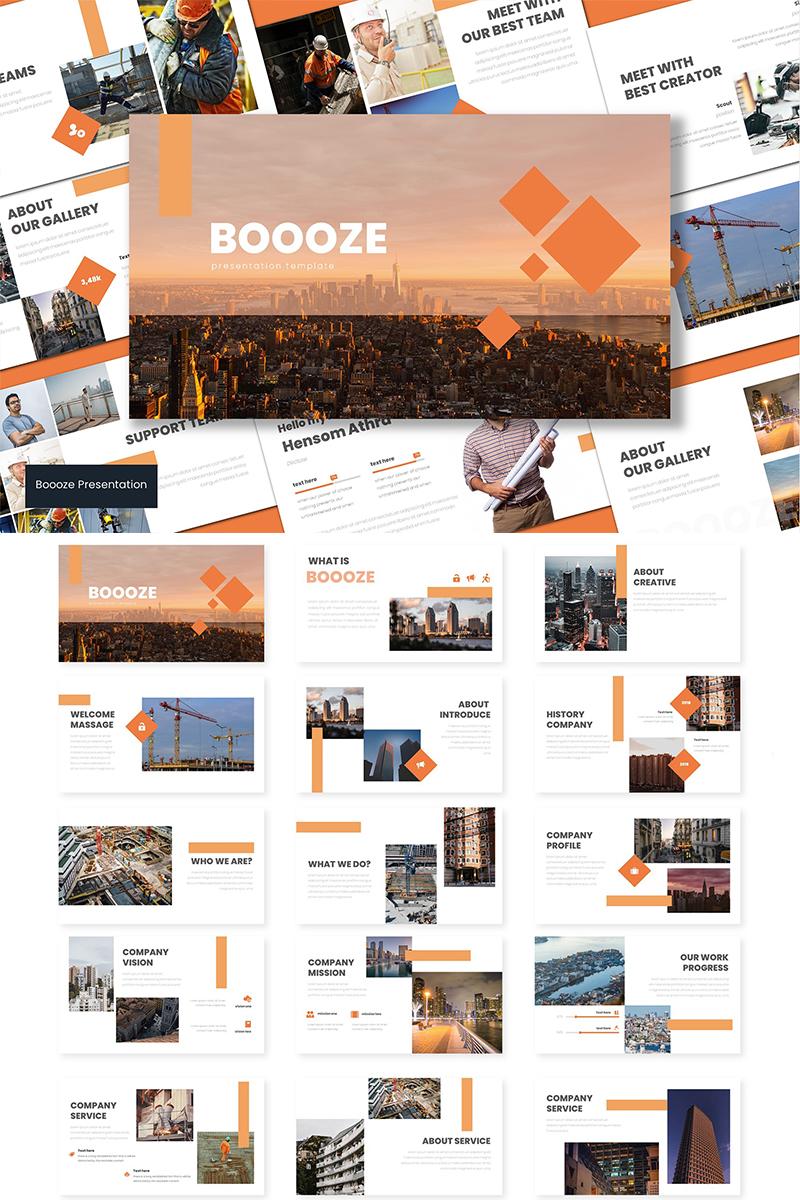 Booze PowerPoint Template